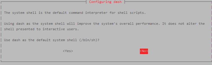 configuring dash
